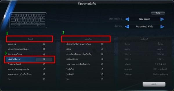 fifa online 3 control 3