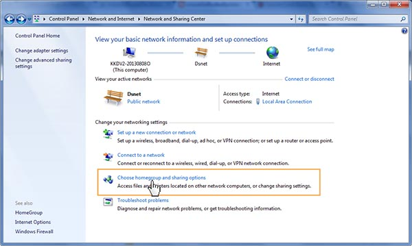 how to share drive in windows 7 step by step