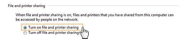 share printer windown7_7