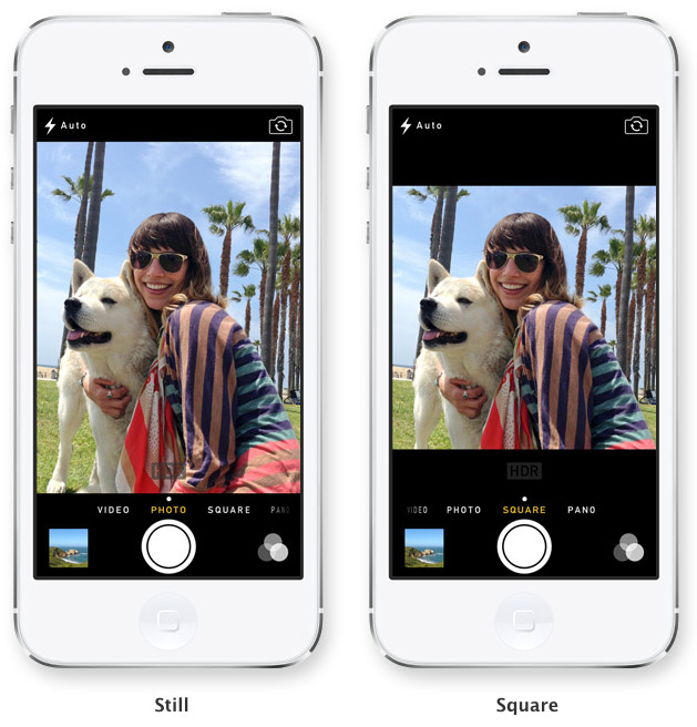 Camera iOS 7