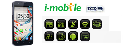 i-mobile IQ 9_Head