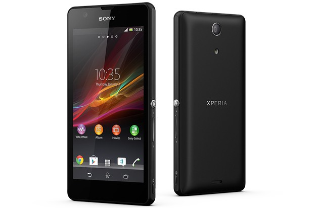 Sony Xperia ZR_head