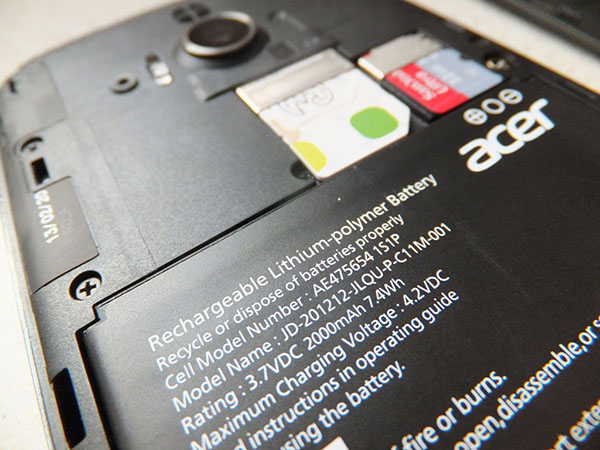 Acer Liquid E2_SIM