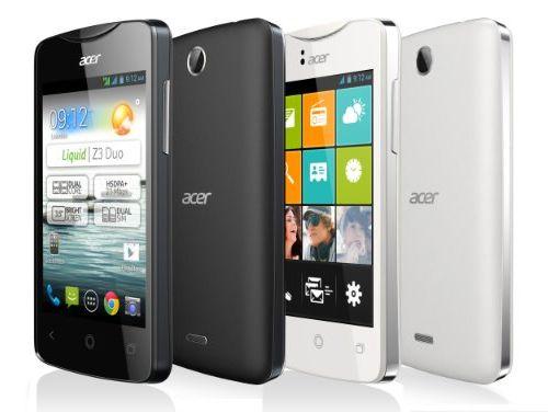 Acer Liquid Z3s 4