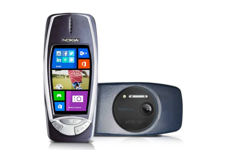 Nokia 3310 with PureView
