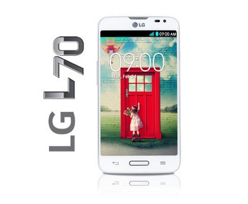 LG L70 Dual head