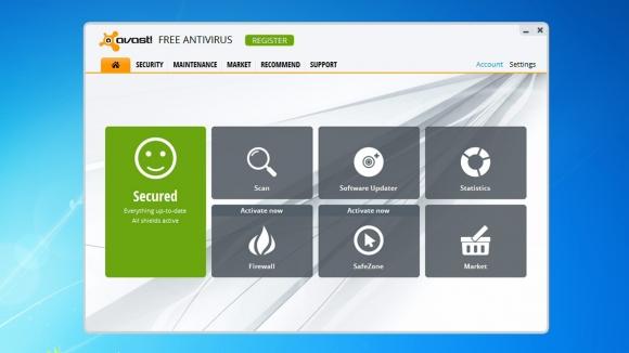 โปรแกรมสแกนไวรัส Avast Free Antivirus