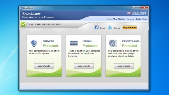 ZoneAlarm Free Antivirus
