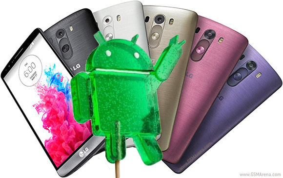 LG G3 update Android L