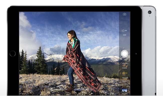 iPad Air 2 camera