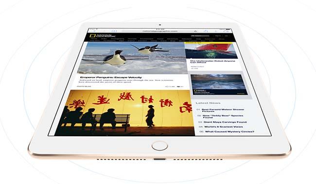 iPad Air 2 conection