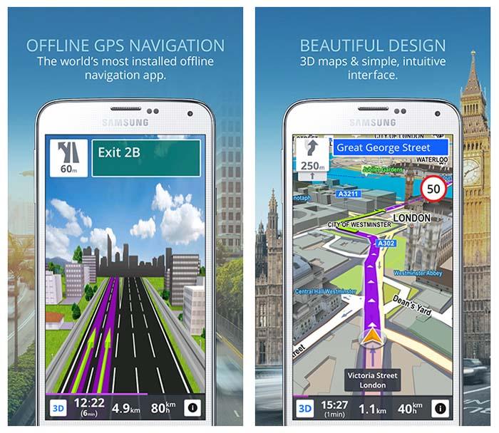 GPS Navigation & Maps Sygic Real