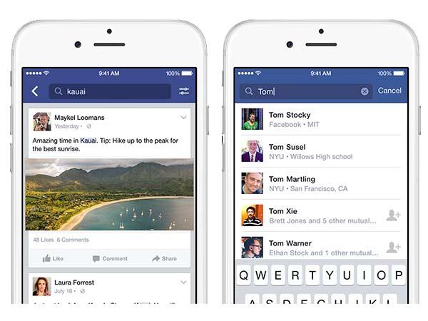 Facebook Search 1