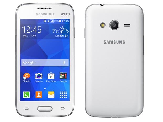 Samsung Galaxy V front back