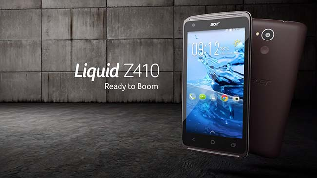 ACER Liquid Z410 head