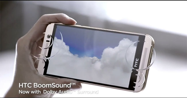 HTC One M9 Boom Sound