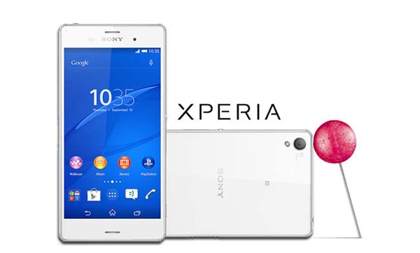Xperia Z Series can update Android 5.0