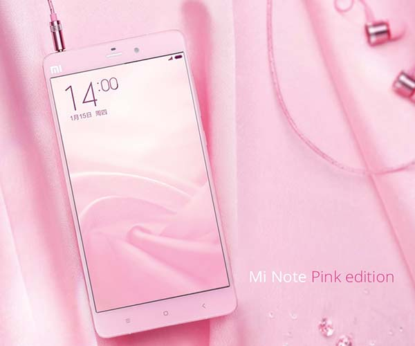 Xiaomi Mi Note first look