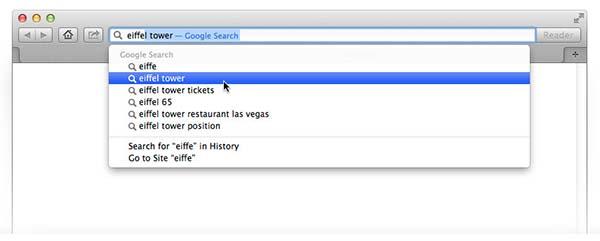 safari + google 1