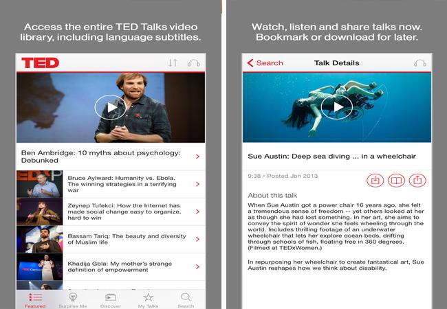 app-เรียนภาษาอังกฤษ-iphone-ted